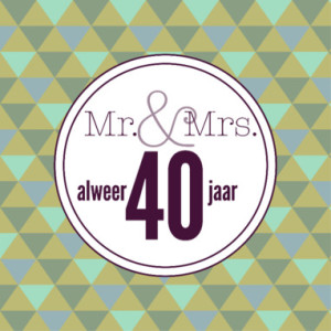 40 Jaar Verjaardagsgedicht