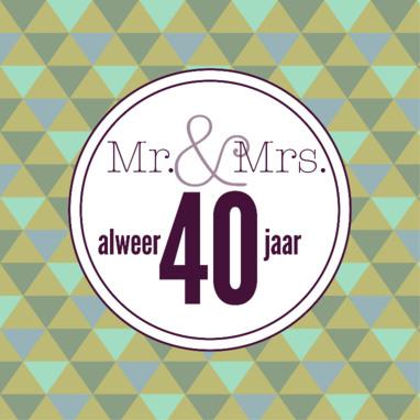 40 jarig huwelijk feest Archives   40jarighuwelijk.nl 40 jarig huwelijk